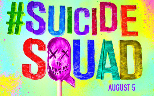Suicide Squad wallpaper probably containing anime titled Suicide Squad - Sucker Wallpaper