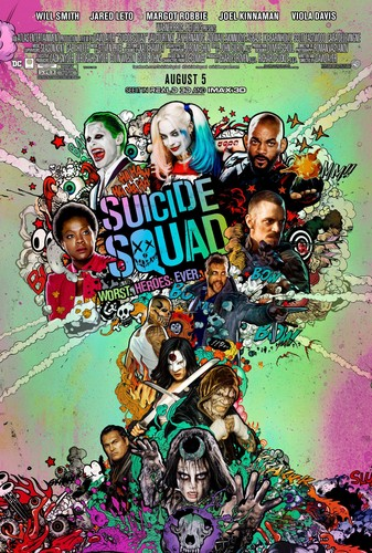 Suicide Squad fondo de pantalla with anime called Suicide Squad - Worst. Heroes. Ever. - Poster