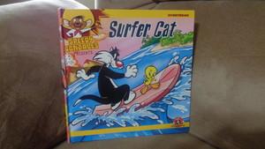 Surfer Cat book starring Sylvester