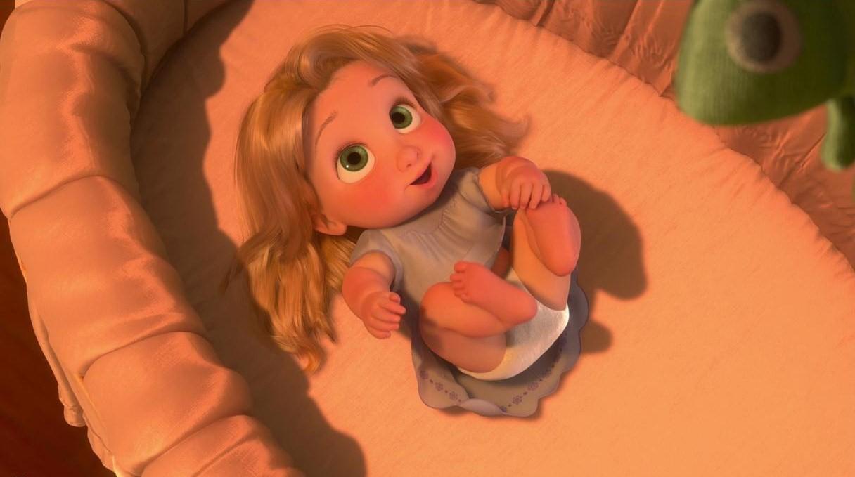Disney b b s images raiponce baby rapunzel hd fond d cran and background photos 39737850 - Bebe raiponce ...