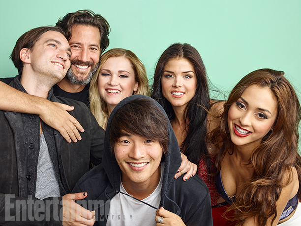 The 100 Cast at San Diego Comic Con 2016