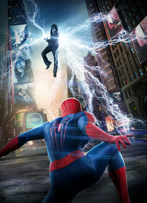 The Amazing ragno Man VS Electro