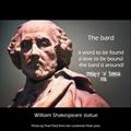 The Bard - william-shakespeare fan art