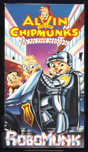 The Chipmunks go to the Film (VHS)