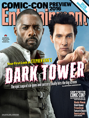 The Dark Tower 壁纸 containing 日本动漫 titled The Dark Tower - EW Cover