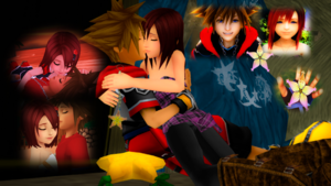 The Final Sora and Kairi are feelings for each other..
