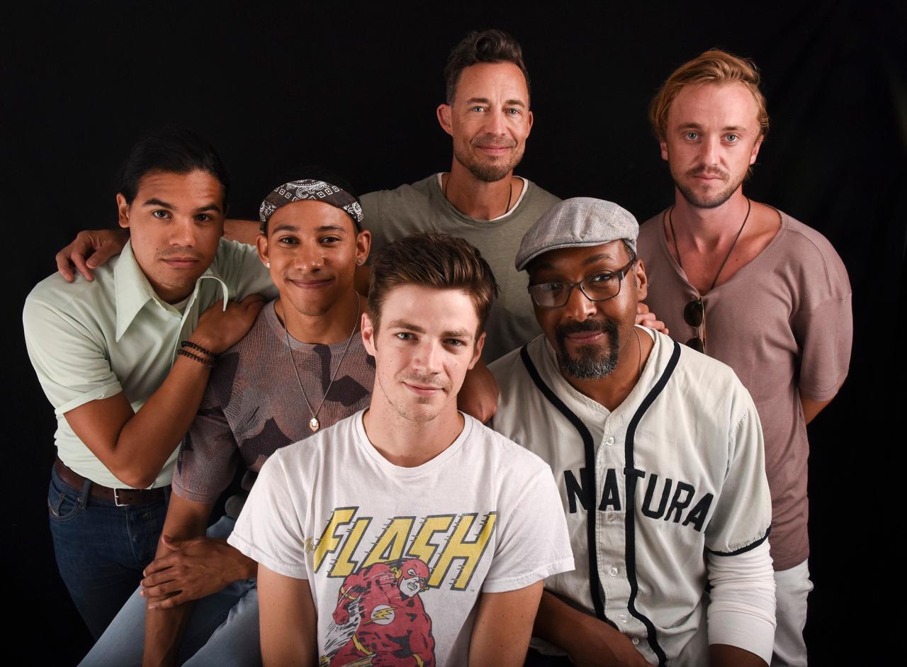 The Flash Cast - Comic Con