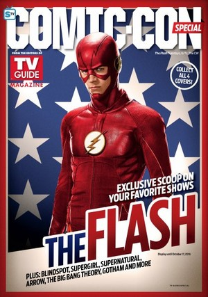 The Flash - Comic Con - TV Guide Magazine