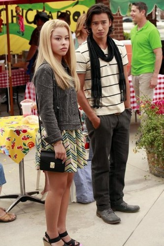 Jordan Rodrigues wallpaper possibly with bare legs, a hip boot, and a strada, via titled The Fosters 2x09 Stills