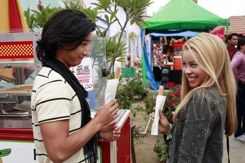 Jordan Rodrigues wallpaper entitled The Fosters 2x09 Stills