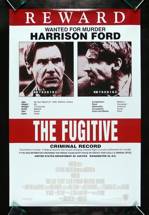 The Fugitive 1993 Poster