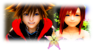 The Last Sora and Kairi are feelings for each other.