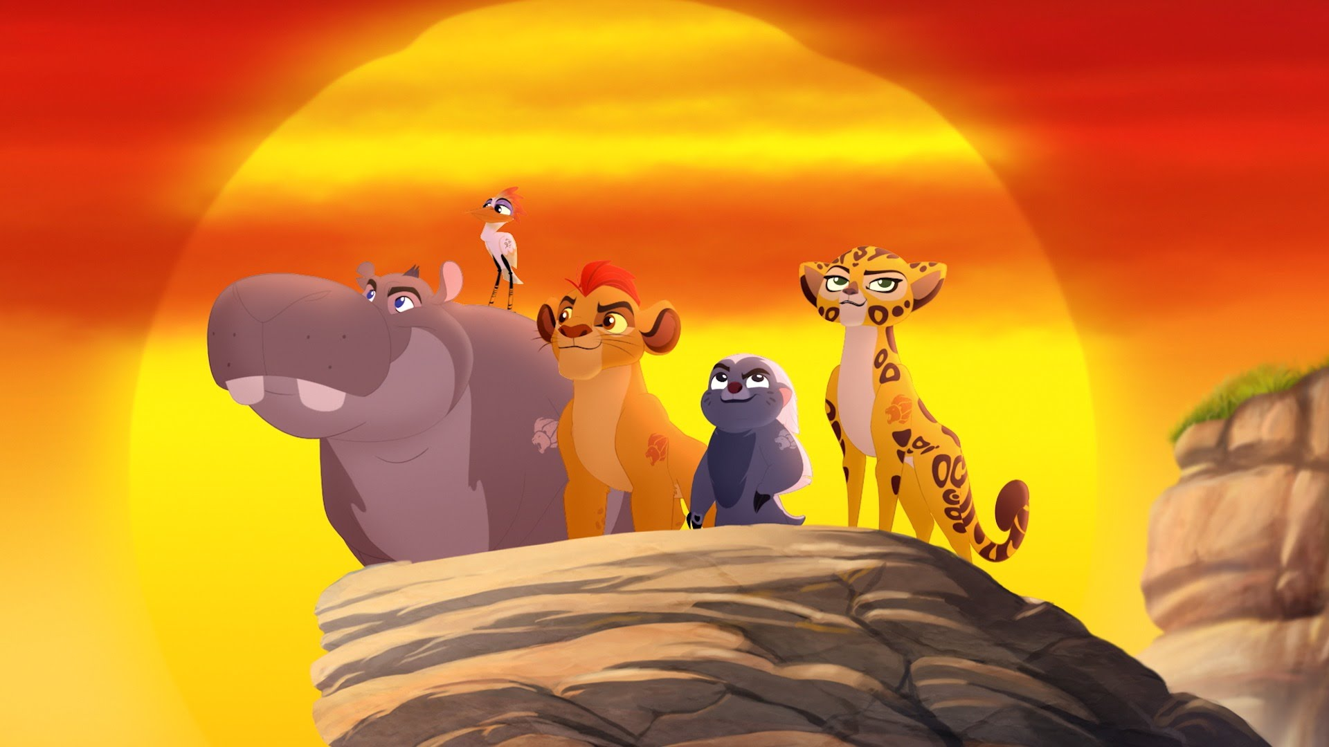 The Lion Guard Images The Lion Guard HD Wallpaper And