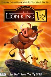 The Lion King 1 and A Half