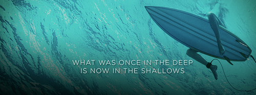 The Shallows fond d'écran probably containing a sign called The Shallows Banner