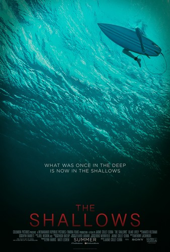 The Shallows fondo de pantalla titled The Shallows Poster
