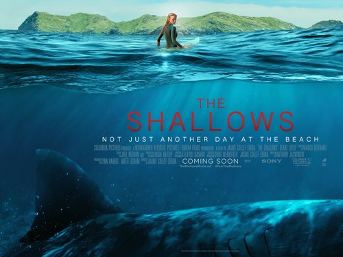 The Shallows fondo de pantalla entitled The Shallows Poster