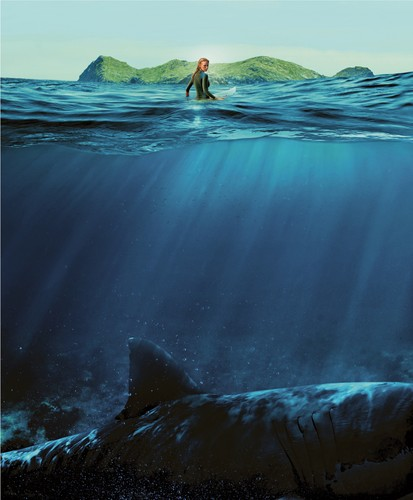 The Shallows fond d'écran entitled The Shallows Textless Poster