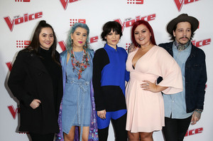 The Voice Au - tuktok 16 Artists Launch 2016