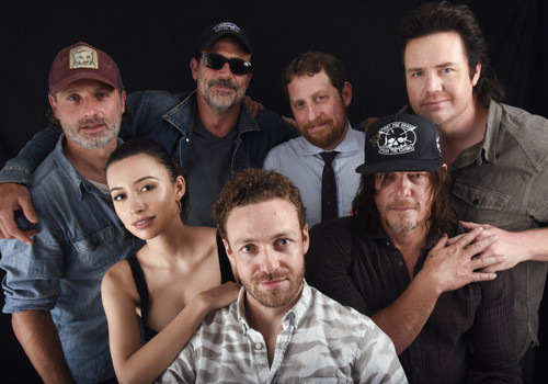 The Walking Dead Hintergrund called The Walking Dead Cast @ Comic-Con 2016