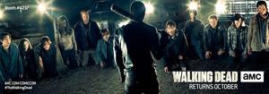 The Walking Dead Season 7 Comic Con Key Art