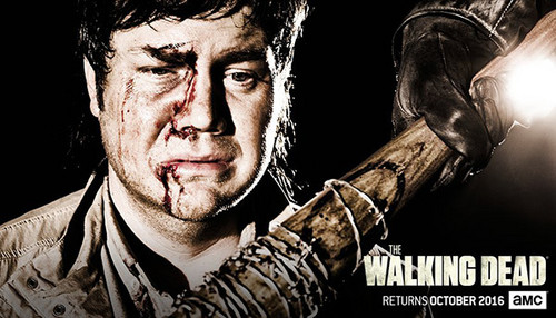 the walking dead wallpaper probably containing anime called The Walking Dead Season 7 promotional picture