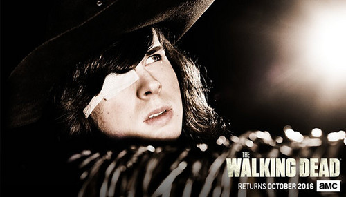 the walking dead wallpaper probably containing a chainlink fence and a fedora called The Walking Dead Season 7 promotional picture