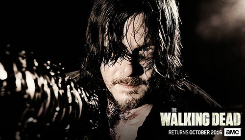 Walking Dead fond d'écran probably with a chainlink fence called The Walking Dead Season 7 promotional picture