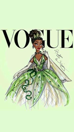 Tiana in Vogue