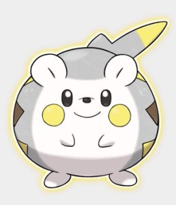 Togedemaru, the Roly-Poly Pokemon.