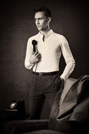 Tom Hiddleston - Evening Standard Photoshoot - October 2013
