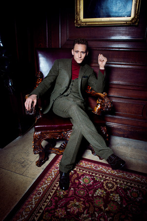 Tom Hiddleston - GQ UK Photoshoot - November 2013