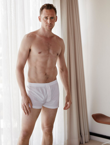 Tom Hiddleston wallpaper with a hunk and skin entitled Tom Hiddleston - W Magazine Photoshoot - August 2016