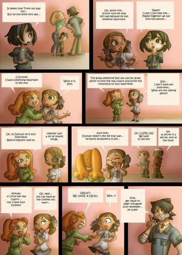 Total Drama Island kertas dinding entitled Total Drama Kids Comic Page 42