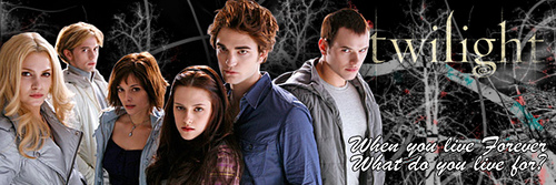 The Cullens wallpaper possibly containing a well dressed person, a business suit, and a portrait called Twilight banner the cullens 2269055