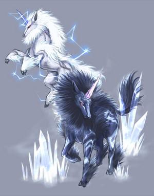 Twins of lightning