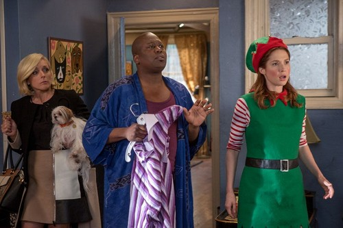 Unbreakable Kimmy Schmidt wallpaper entitled Unbreakable Kimmy Schmidt - Jacqueline, Titus and Kimmy