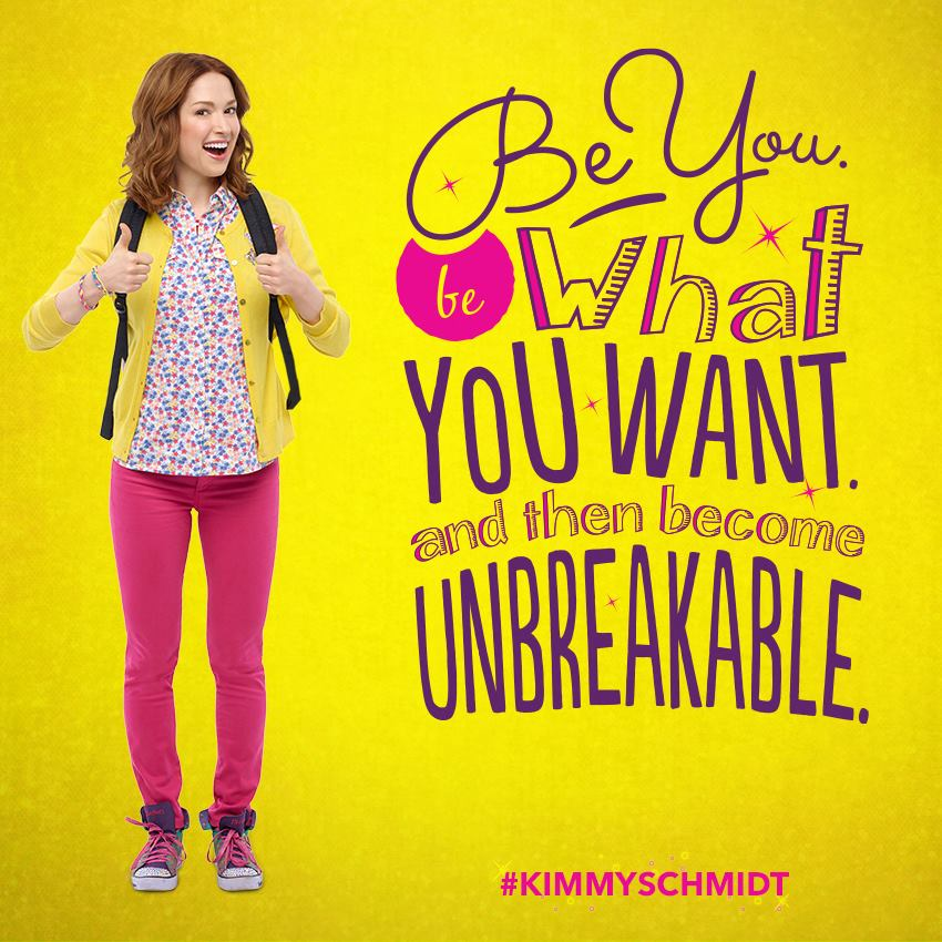 the adventure of kimmy schmidt in new york city in the american sitcom unbreakable kimmy schmidt