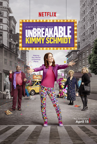 Unbreakable Kimmy Schmidt kertas dinding containing a jalan titled Unbreakable Kimmy Schmidt Poster