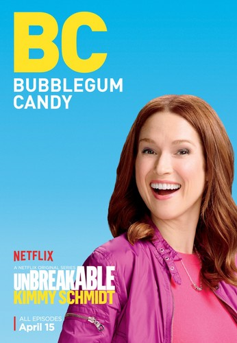 Unbreakable Kimmy Schmidt wallpaper with a portrait titled Unbreakable Kimmy Schmidt - Season 2 Poster - BC