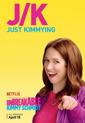 Unbreakable Kimmy Schmidt kertas dinding containing a portrait called Unbreakable Kimmy Schmidt - Season 2 Poster - JK