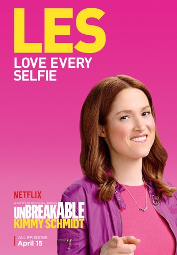 Unbreakable Kimmy Schmidt wallpaper with a portrait called Unbreakable Kimmy Schmidt - Season 2 Poster - LES