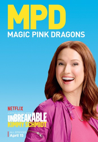 Unbreakable Kimmy Schmidt wallpaper with a portrait titled Unbreakable Kimmy Schmidt - Season 2 Poster - MPD