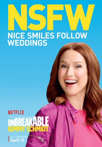 Unbreakable Kimmy Schmidt wallpaper with a portrait called Unbreakable Kimmy Schmidt - Season 2 Poster - NSFW