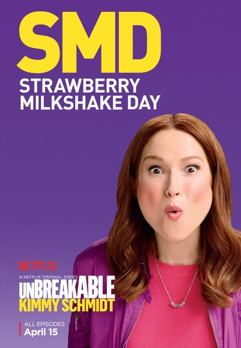 Unbreakable Kimmy Schmidt پیپر وال containing a portrait called Unbreakable Kimmy Schmidt - Season 2 Poster - SMD