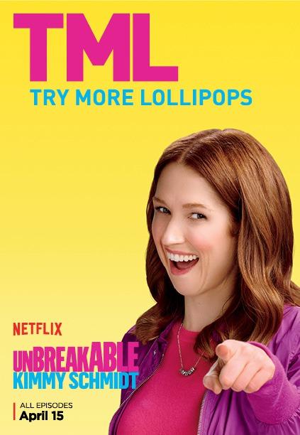 Unbreakable Kimmy Schmidt - Season 2 Poster - TML