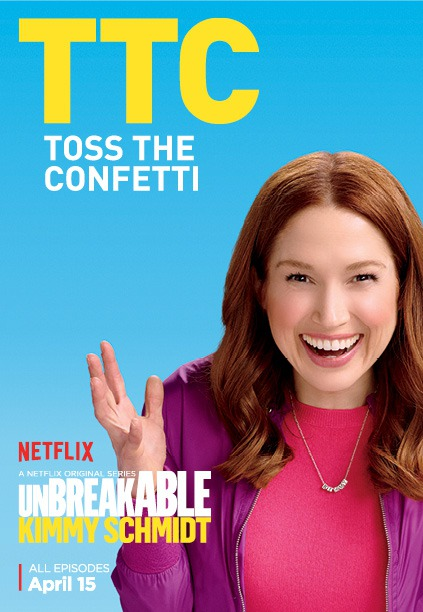 Unbreakable Kimmy Schmidt - Season 2 Poster - TTC