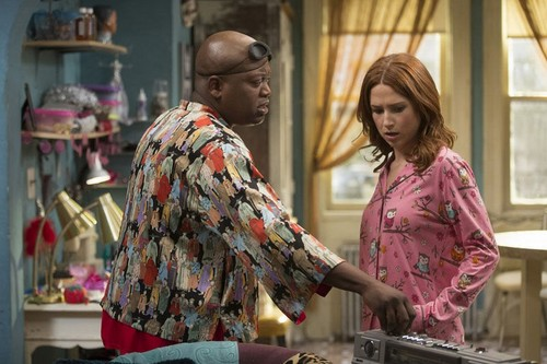 Unbreakable Kimmy Schmidt wallpaper titled Unbreakable Kimmy Schmidt - Titus and Kimmy