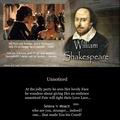 Unnoticed - william-shakespeare fan art