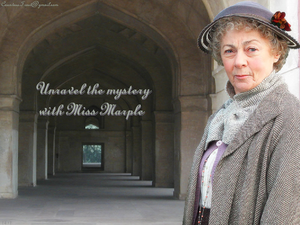 Unravel the mystery with Miss Marple